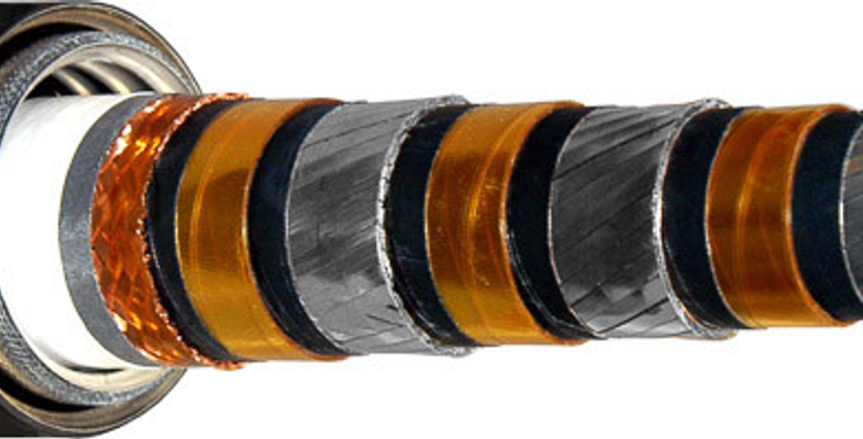 Sectional view of superconducting cable