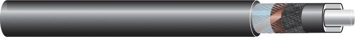 Image of 33kV single core cable XLPE-AL-RE-FB-LRT, AL screen cable
