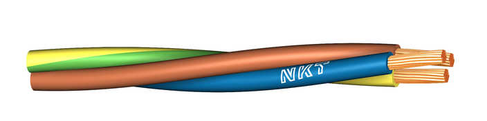 Image of FQ Tvinnad 450/750 V cable