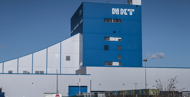 Exterior view of production site in Cologne
